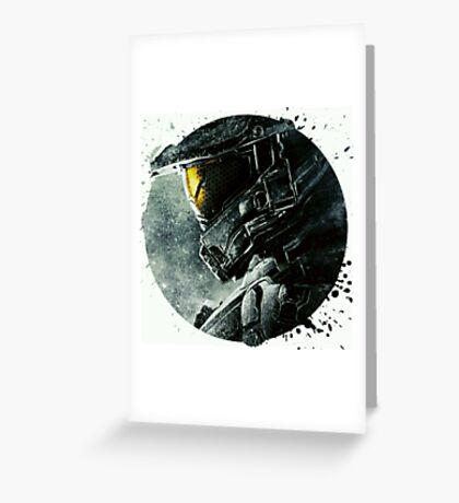 Halo Master Chief Illusions T shirt Most Popular Greeting Card