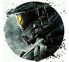 Halo Master Chief Illusions T shirt Most Popular Photographic Print