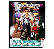 LOUIS THEROUX GANGSTA RAP ALBUM COVER WEIRD WEEKENDS Poster