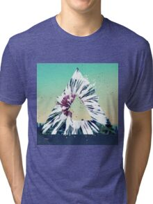 Dandelion Flower T-Shirt Summer Vibe Illusions Most Popular Tri-blend T-Shirt