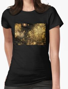 A Galaxy of Gold Womens Fitted T-Shirt