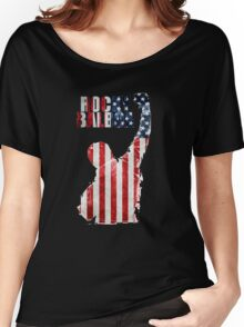 ROCKY BOXING - FLAG VINTAGE Women's Relaxed Fit T-Shirt