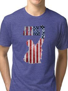 ROCKY BOXING - FLAG VINTAGE Tri-blend T-Shirt