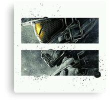 Halo Master Chief Art T-Shirt Illusions Most Popular Canvas Print