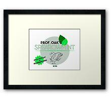 Spearowmint Gum Framed Print