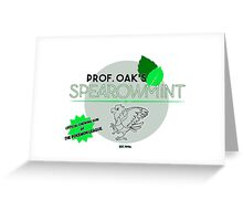 Spearowmint Gum Greeting Card