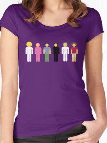 DizastaMusic (FilthyFrank) Characters Shirt Women's Fitted Scoop T-Shirt