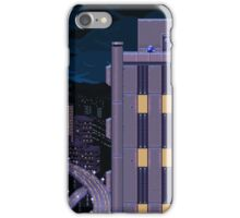 Mega Man Title Screen iPhone Case/Skin