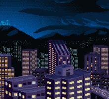 Mega Man Title Screen Sticker