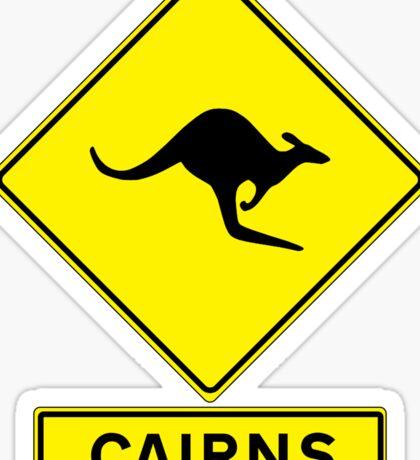 Bruce Highway - Cairns Ocean Road! Sticker