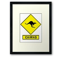 Bruce Highway - Cairns Ocean Road! Framed Print