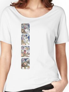 Awesome Bunnies Photobooth Series Women's Relaxed Fit T-Shirt