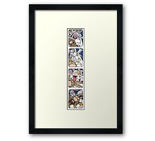 Awesome Bunnies Photobooth Series Framed Print