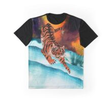 Earthen Tiger Graphic T-Shirt