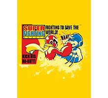 Super Fighting Robots Photographic Print