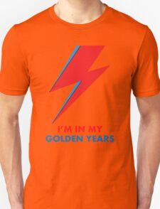 """David Bowie """"I'm in my Golden Years"""" original design Unisex T-Shirt"""