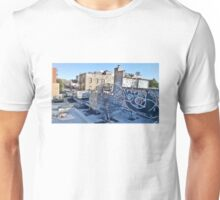 New York satellite dishes Unisex T-Shirt