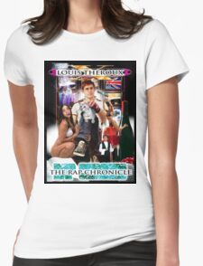 LOUIS THEROUX GANGSTA RAP ALBUM COVER Womens Fitted T-Shirt