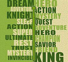 DREAM HERO (green) by BGWdesigns