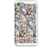 Awesome Bunnies Photobooth Series iPhone Case/Skin