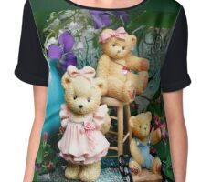 Three Bears Chiffon Top