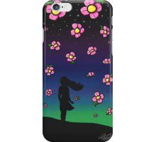 Falling Flowers iPhone Case/Skin