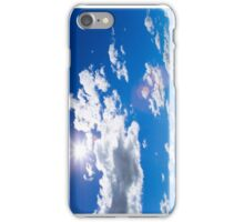 Sunny Skies and Puffy Clouds iPhone Case/Skin