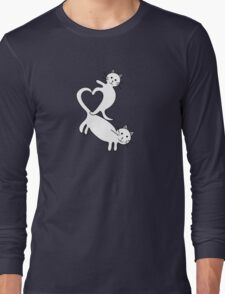 Heart Kittens Long Sleeve T-Shirt