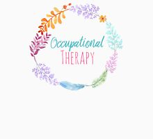 Occupational Therapy Wreath Womens Fitted T-Shirt
