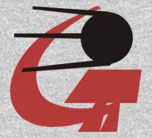 Soviet Satellite - Sputnik One Piece - Short Sleeve