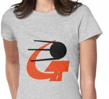 Soviet Satellite - Sputnik Womens Fitted T-Shirt