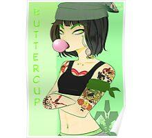Chola! PowerPuffGirls - Buttercup Poster