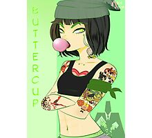 Chola! PowerPuffGirls - Buttercup Photographic Print