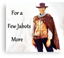 For a Few Jabots More Canvas Print
