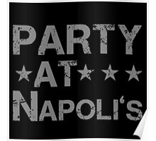 Party At Napolis Cleveland Indians Poster