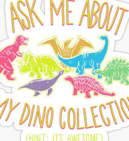 Dino Collection Sticker