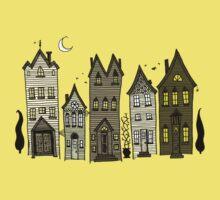 Haunted Houses Kids Tee
