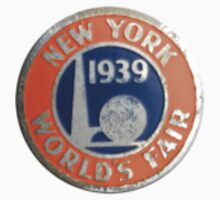 New York World's Fair 1939 One Piece - Long Sleeve