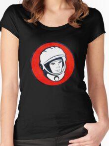Cosmonaut Yuri Gagarin  Women's Fitted Scoop T-Shirt
