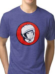 Cosmonaut Yuri Gagarin  Tri-blend T-Shirt