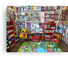 The Children's Play Corner Canvas Print