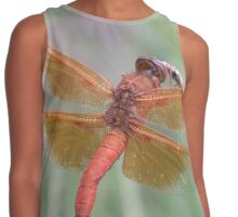 Red Dragon Fly Contrast Tank