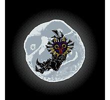 Moonlight skull kid Photographic Print