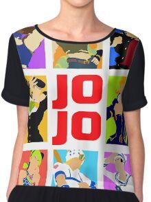 JoJo's Bizarre Chiffon Top
