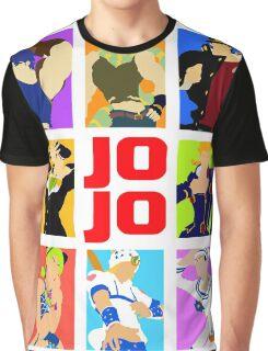 JoJo's Bizarre Graphic T-Shirt