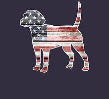 Patriotic Beagle Unisex T-Shirt