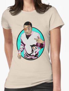 Japanese Cartoon Womens Fitted T-Shirt