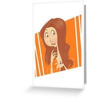 Soso OITNB Greeting Card