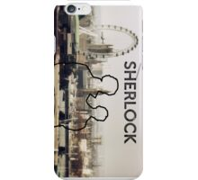 Sherlock Silhouette  iPhone Case/Skin
