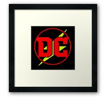 DC - Kid Flash Red/Yellow Ver. Framed Print